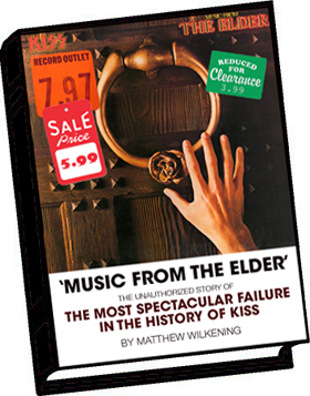 Of new music from the elder book available now kiss asylum