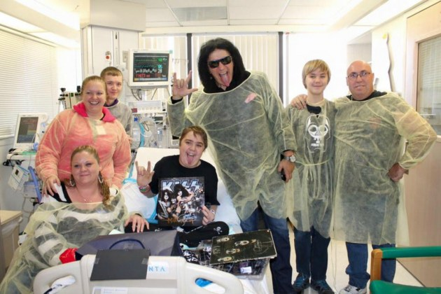 Gene-Simmons-Hospital-Visit