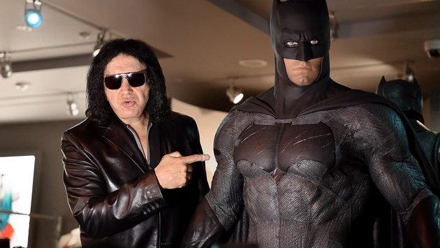 """HOLLYWOOD, CA - MAY 18:  Musician Gene Simmons attends the Warner Bros. Studio Tour Hollywood launch of DC Universe: The Exhibit - featuring the greatest Super Heroes and Super-Villains on May 18, 2016 in Hollywood, California.  (Photo by Mike Windle/Getty Images  for Warner Bros. Studio Tour Hollywood)"""