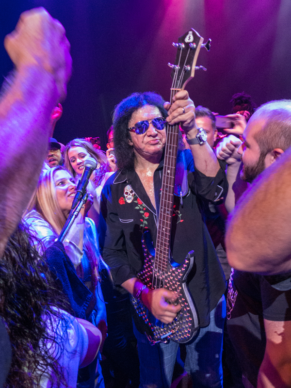 Gene Simmons in Lancaster PA by Peter Arquette